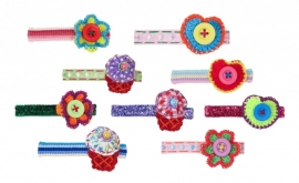 Rice hairclips, glamourama 9 assorti