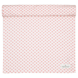 Greengate table runner Sasha peach