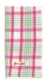 Greengate bread basket napkin asta pink