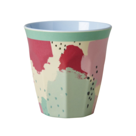 Rice melamine beker,  splash print