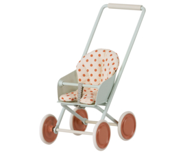 Maileg Stroller for baby - Pale blue