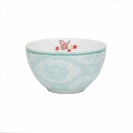 Room Seven bowl small Dentelle blue