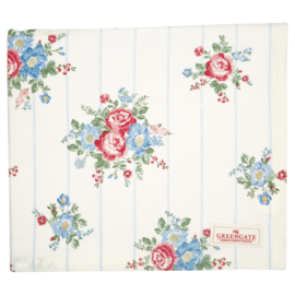 Greengate Tablecloth Henrietta white 145x250cm