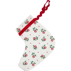 Greengate stocking-hanger Abi petit white small