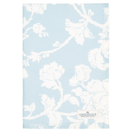 Greengate teatowel Ingrid pale blue