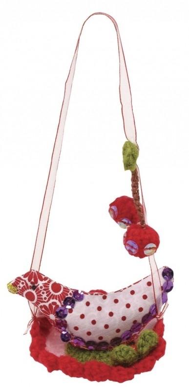 Rice vogel-hanger, rood
