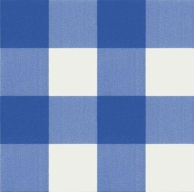 tafelzeil ruit blauw