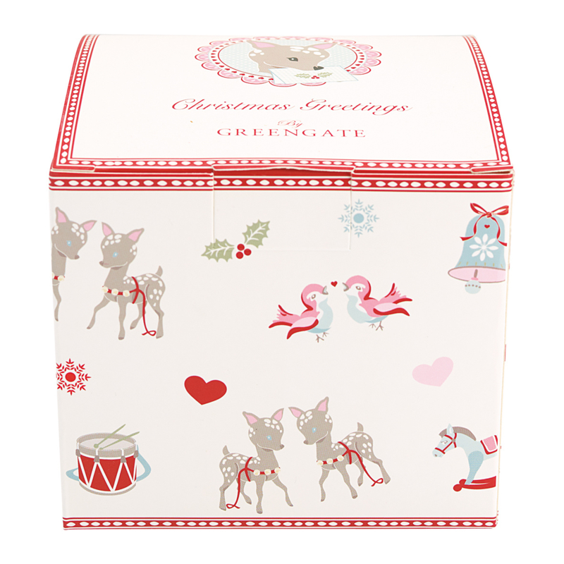 Greengate giftbox Bambi white small
