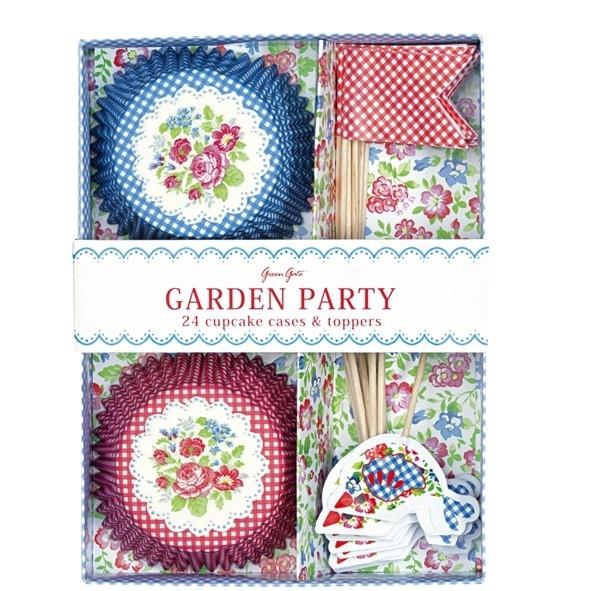 Greengate cupcake en toppers Garden