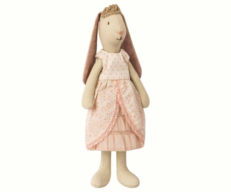 Maileg small/mini bunny princess - Rose