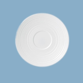 Wedgwood  Jasper Conran White theeschotel (Strata) LOS groot model