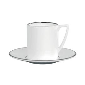 Wedgwood  Jasper Conran Platinum espressokopje en schoteltje