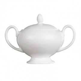 Wedgwood White China Suikerpot Leigh (nieuw model)
