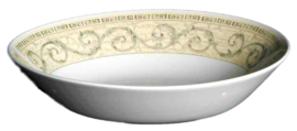 Johnson Acanthus Cream ovaal brood/groenteschaaltje 22cm