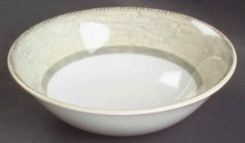 Johnson Acanthus Cream pap/dessertschaaltje 16cm