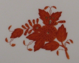 Herend Apponyi Orange // Bouquet Rust (AOG-decor)