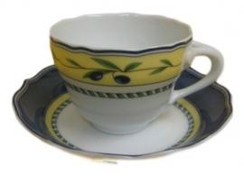 Hutschenreuther Medley espressokop en schoteltje