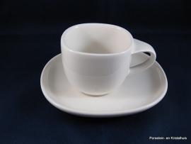V&B Urban mokka/espressokop en schoteltje 0.08ltr