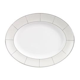 Wedgwood Shagreen ovale vleesschotel ±39cm