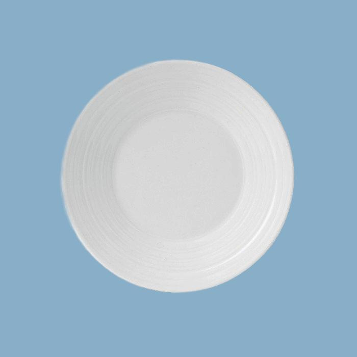 Wedgwood  Jasper Conran White Strata gebakbordje/sideplate ±18cm