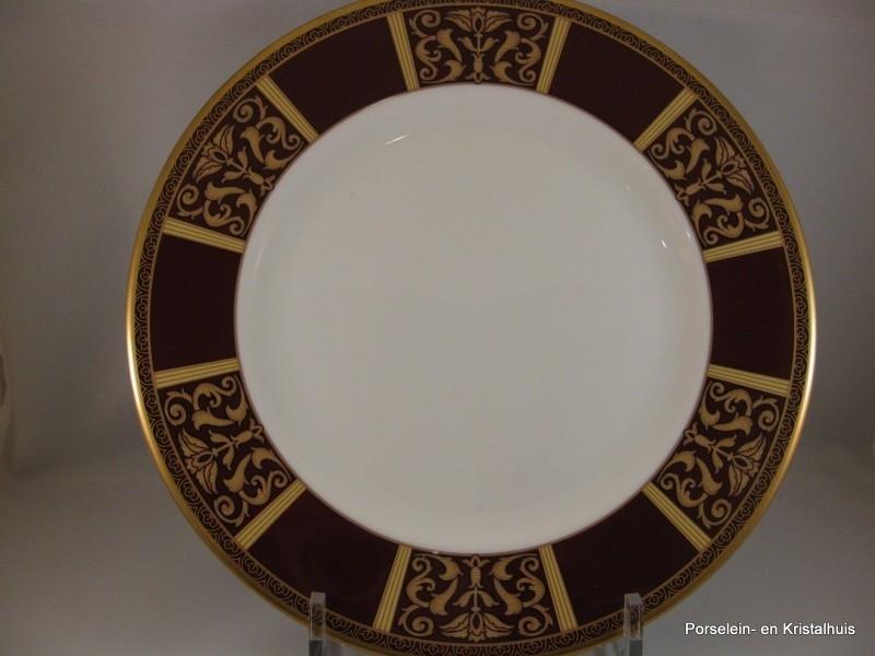 Royal Doulton Tennyson ontbijtbord 23cm Accent