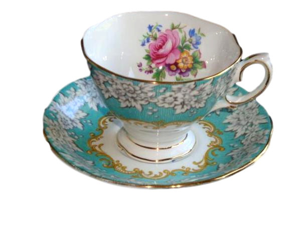 Royal Albert Servies Wit.Royal Albert Enchantment Kop En Schotel Klein Royal Albert