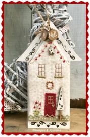 Maison de Noel Mini quilt pakketje