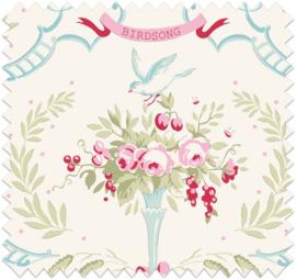 """Tilda Old Rose """"Bird Song Dove White"""""""