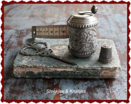 Rolcentimeter antieke stijl