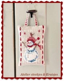 """S&K """"Sneeuwpop"""" patroon of pakketje"""