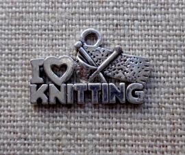 """Bedel """"I love knitting"""""""