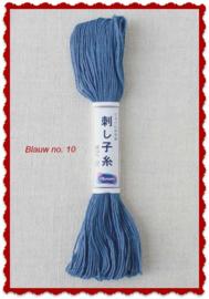 Olympus Sashiko garen blauw no. 10