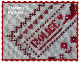 """S&K speldenkussen """"Rouge"""""""