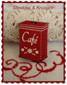 Knoop blikje Café
