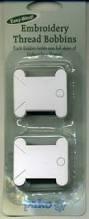 Plastic wikkelkaartjes voor borduurgaren