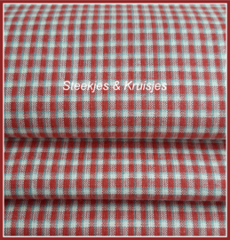 Minnick & Simpsons Silky Wovens rood  12215-27