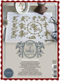 """""""Esprit de Famille""""  speciale uitgave Creation Point de Croix"""