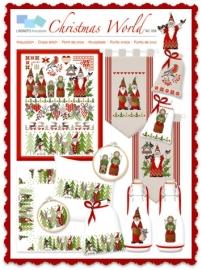 "Lindner borduurpatroon ""Christmasworld"""