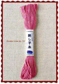 Olympus Sashiko garen donker rose no. 13