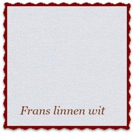 Frans borduurlinnen 22-draads 38 x 50 cm wit