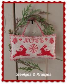 """S & K """"Kerst Haasjes"""" patroon"""