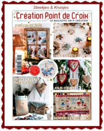 Creation Point de Croix  nov/dec 2020