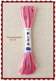 Olympus Sashiko garen rose gemeleerd no. 53