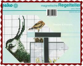 Stekenhulp/magneetbord