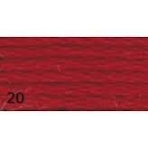 Anchor Mouliné nr. 20 warm rood