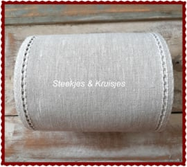 200 cm stitching band, wide 170 mm mixed color,  with open border