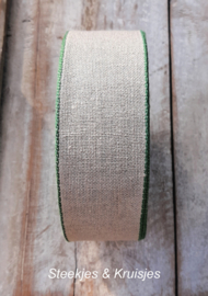 75 cm banding wide 50 mm, small green border,  Sew Advent SAL iStitch 2021