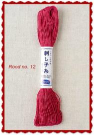 Olympus Sashiko garen rood no. 12