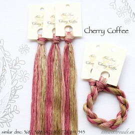 "Nina's Threads ""Cherry Coffee"""