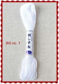 Olympus Sashiko garen wit no. 1